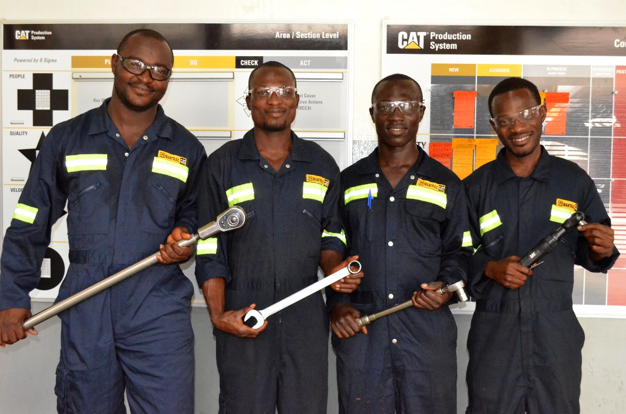 Technicians For Africa From Caterpillar University